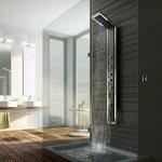 Kabiny kwadratowe, piękne zlewozmywaki markowe, kolumny prysznicowe
