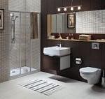 Ciekawe umeblowanie łazienki