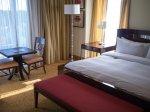 Wystrój pokoju hotelowego