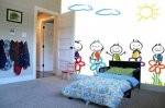 Pomysł na pomysłową i fascynującą aranżację pokoju dziecięcego